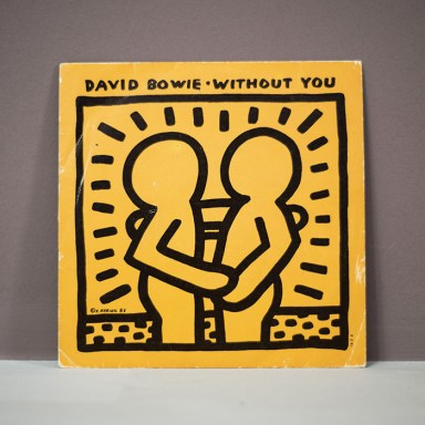 Risultati immagini per david bowie without you keith haring