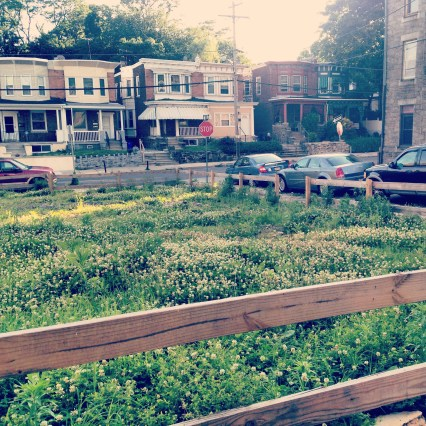 Lot at the corner of Greene & W Rockland St