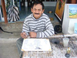 Ubud Bali Artist Wayan Rana