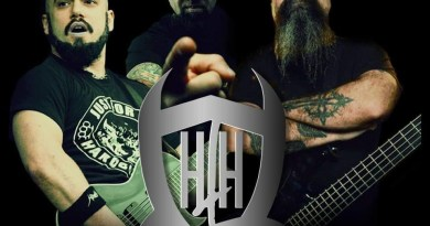 """HAIL THE HORNS, a project from Marc Rizzo, Tony Campos and Christian """"Opus"""" Lawrence team up to cover KISS classic """"God of Thunder""""!"""