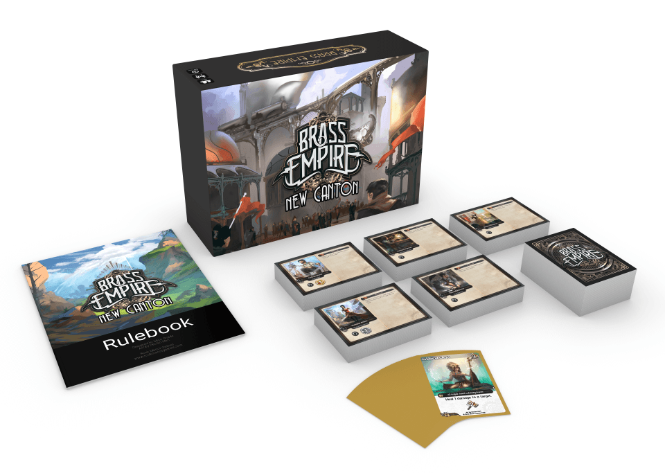 Brass Empire: New Canton is coming to Kickstarter on November 1st!