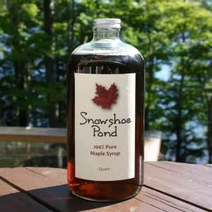 Snowshoe Pond Maple Syrup (Quart)