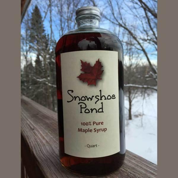 Maple Syrup Quarts