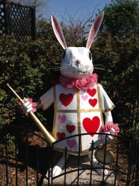 Greetings from the White Rabbit.