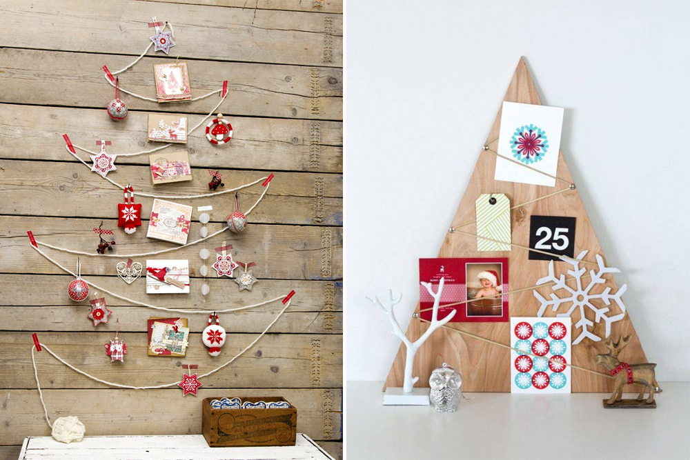 Ideas To Display Christmas Cards