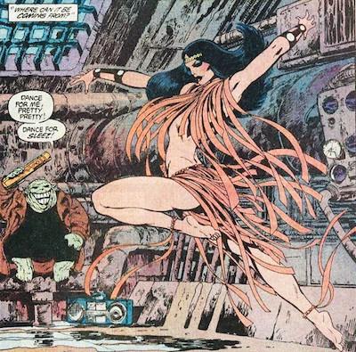 Batman e Wonder donna cartoon porno