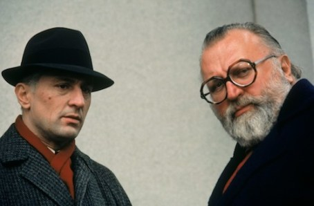 Once Upon a Time in America - Robert De Niro (Noodles) and director Sergio Leone