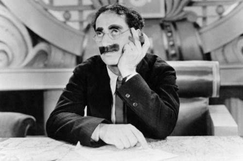 """Je suis Marxiste, tendance Groucho"""