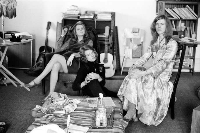 David Bowie et Angie à Haddon Hall