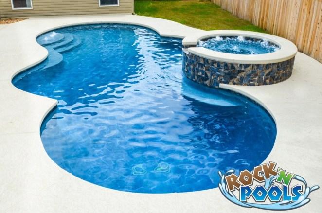 Rock'N'Pools Clayton Ct. Pool Banner