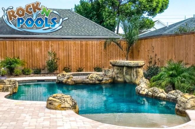 Rock'N'Pools Metairie Heights Pool Banner