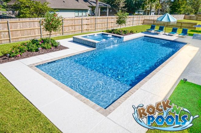 Rock'N'Pools N Club #6 Pool Banner