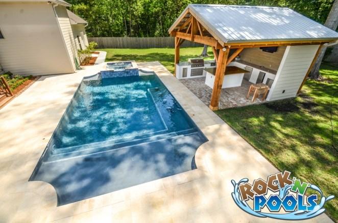 Rock'N'Pools Steeple Pool Banner