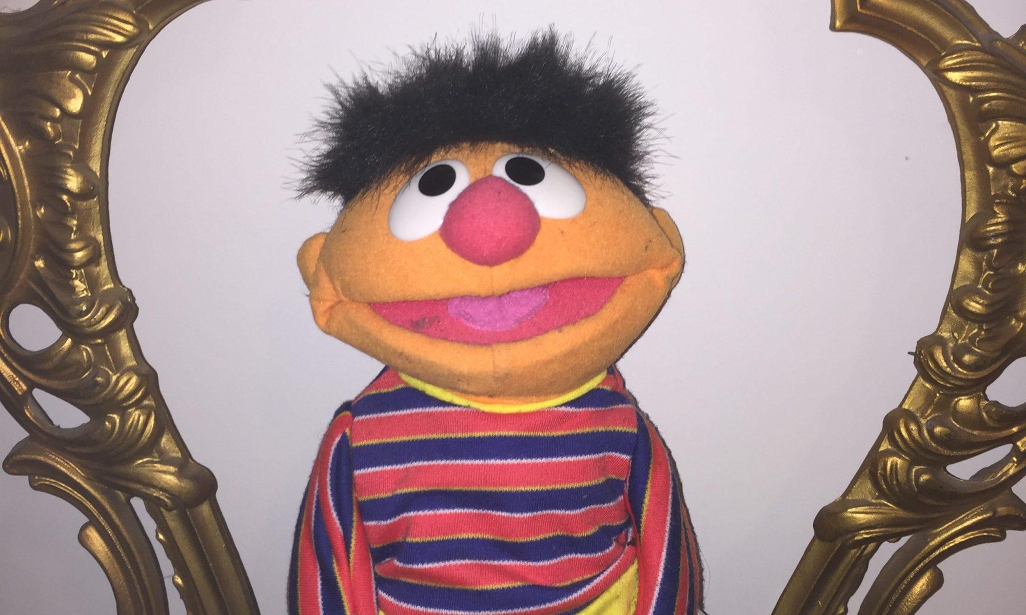 Ernie aus der Sesamstraße
