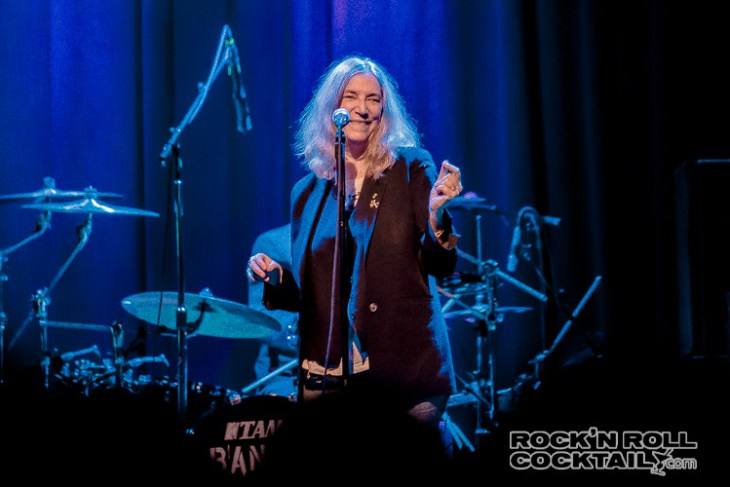 Patti Smith at The Fillmore Photographed by Jason Miller-1