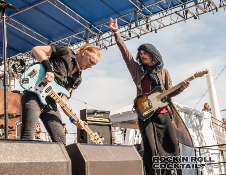 Monsters or Rock Cruise 2015 The Winery Dogs