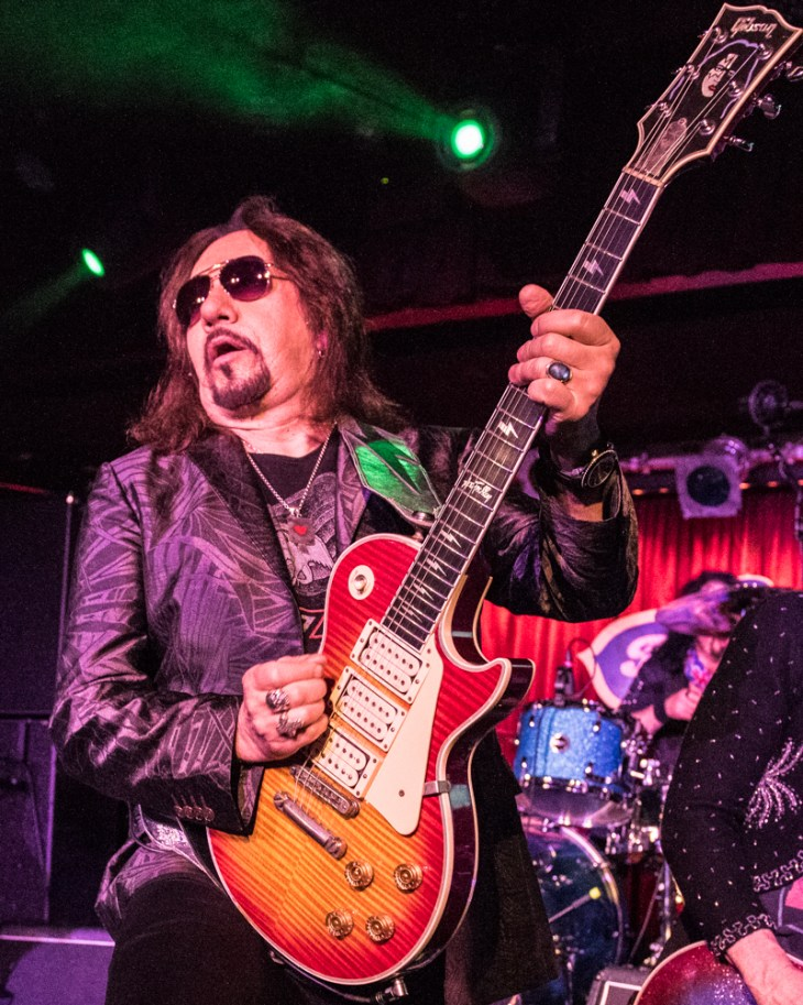 Ace Frehley Photographed by Jason Miller