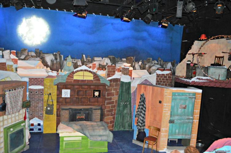 As soon as you settle in to your intimate seat in front of this wonderful set the magic comes alive!