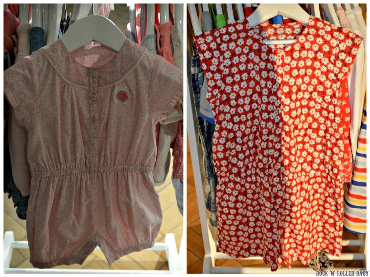 LOve these play suits and look at that crochet detailing on the embellishment on the left!