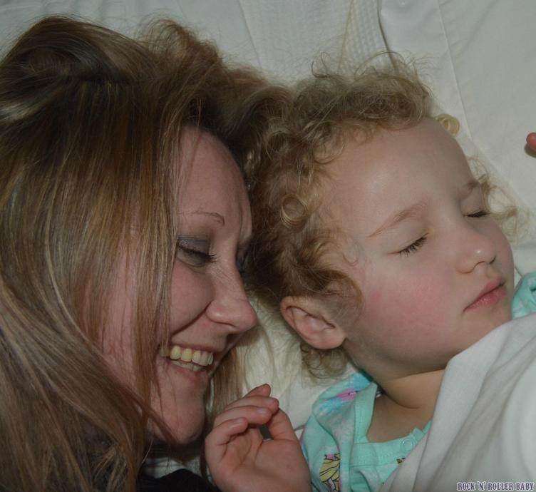Twenty to midnight on New Year's Eve and this is me and my girl, five years to the minute that she was born! We do this every year (I'm sure when she's a teenager and off out with her mates I will stalk her at parties until I get my picture - it's tradition now)!