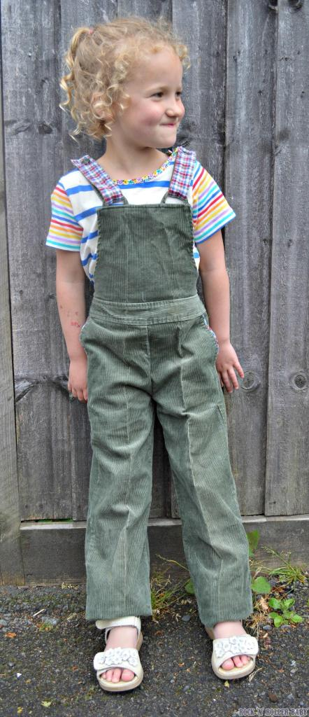 My retro Mothercare dungarees coupled with a T.Shirt from the Little Bird By Jools Summer 15 range!