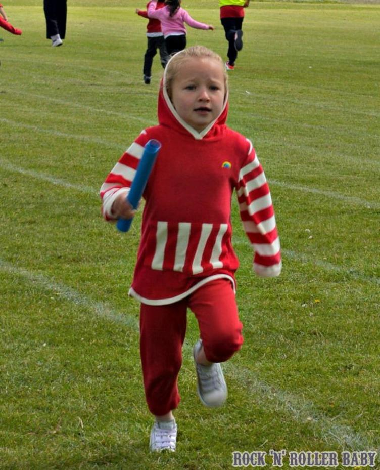 Florence on her sports day!