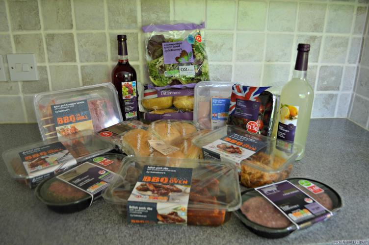A Sainsbury's BBQ!