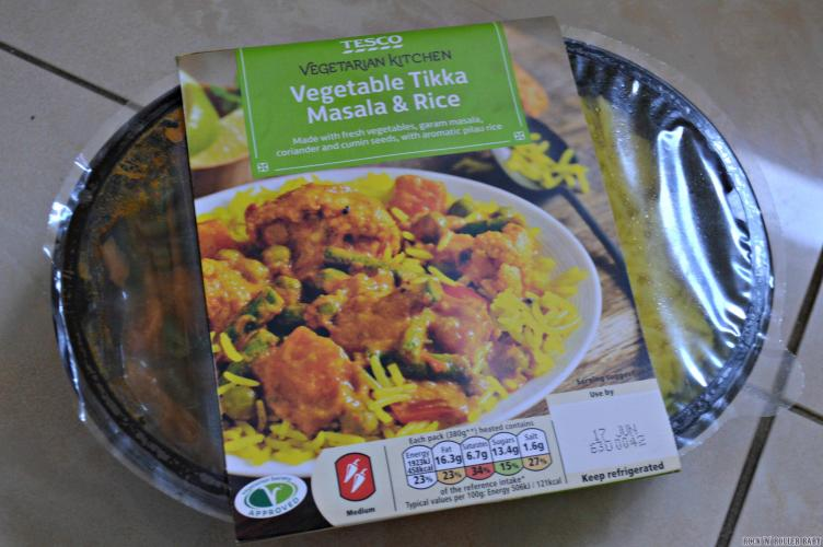 The Tesco chilled vegetarian range is currently on offer with any three items for £6 but this dish alone would be £2.30!