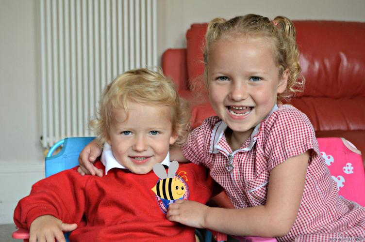 They both had amazing reports from school at parents evening too. I couldn't be prouder of my two little babies!