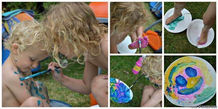 Craft fun in the garden!