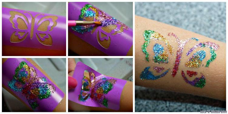 Glitter Tattoos 3