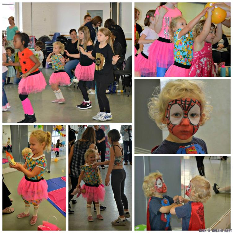 Dancing, party games and face painting fun!