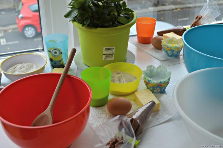 Ready for our own Great British Bake Off mini style after school!
