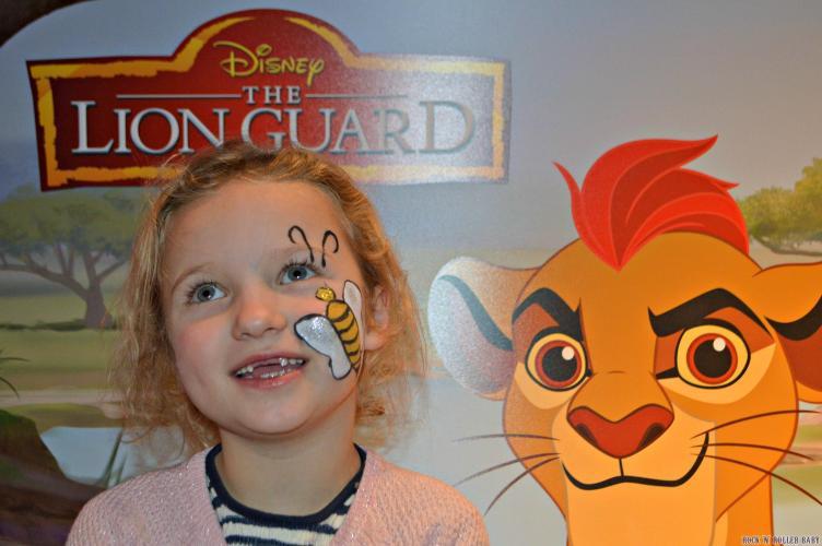 One new fan of the 'Lion Guard: Return of the Roar'!