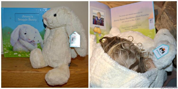 What a lovely book and SUCH a lovely idea for an Easter gift that would suit children as young as a new born!