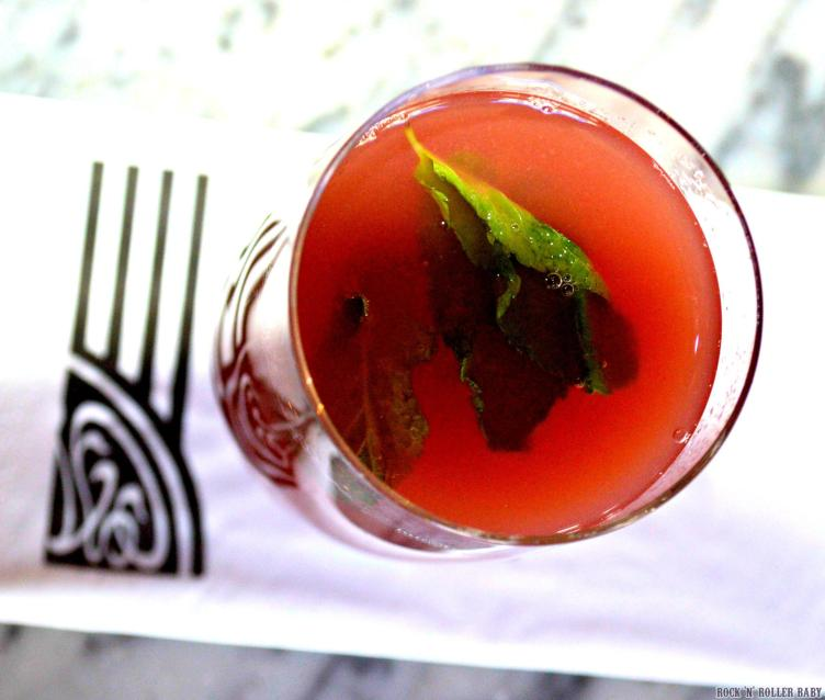I love it when they add something new and fruity to the drinks menu! This Watermelon Chill is perfect for summer!