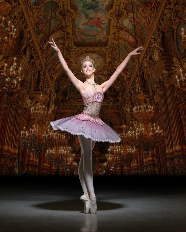 English National Ballet School's production of My First Sleeping Beauty. Markova House, Jay Mews, London on January 18, 2016. Photo: Arnaud Stephenson