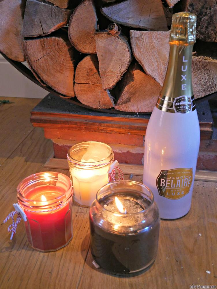 Luc Belaire Luxe - a little bit of luxury for the Christmas dining table for sure!