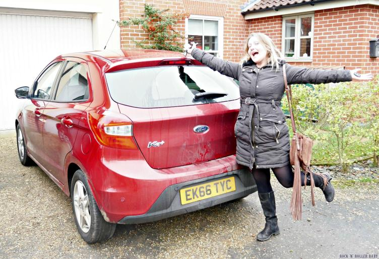 'My' (if only) Ford KA+ - a GREAT compact family car at an even better price!