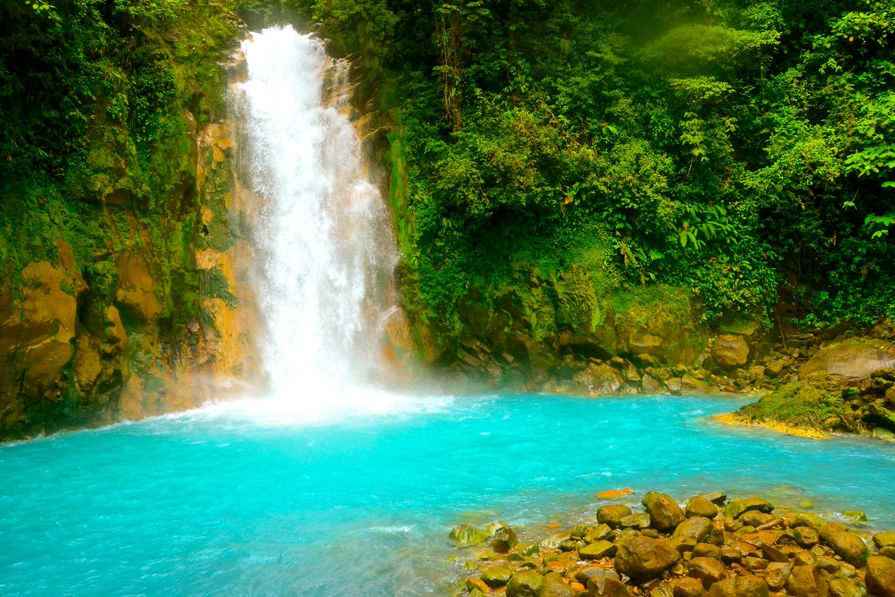 Rio Celeste   The Magic of Costa Rica   Rock n  Rove Rio Celeste     The Magic of Costa Rica