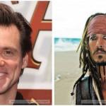 Jim Carey quase foi Jack Sparrow em Piratas do Caribe - A Maldição do Pérola Negra (2003)