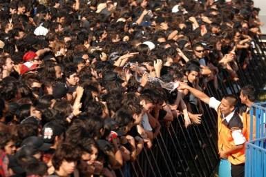 55 mil personas llenaron el Club Hípico de Santiago | Fotógrafo: Álvaro Pruneda