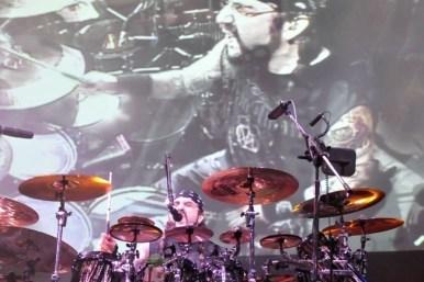 Mike Portnoy en la última visita de Dream Theater a Chile | Fotógrafo: Javier Valenzuela