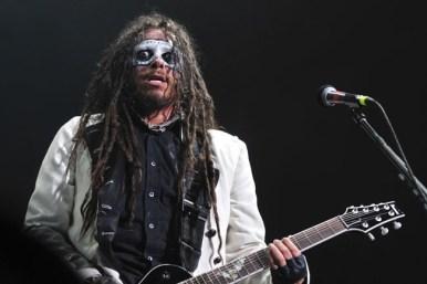James 'Munky' Shaffer, guitarrista de Korn   Fotógrafo: Javier Valenzuela