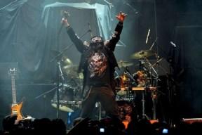 Chronos abriendo el concierto de Manowar en Chile | Fotógrafo: Javier Valenzuela
