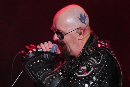 Rob Halford, vocalista de Judas Priest | Fotógrafo: Javier Valenzuela