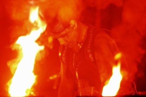 Rammstein Chile 2010 | Fotógrafo: Javier Valenzuela