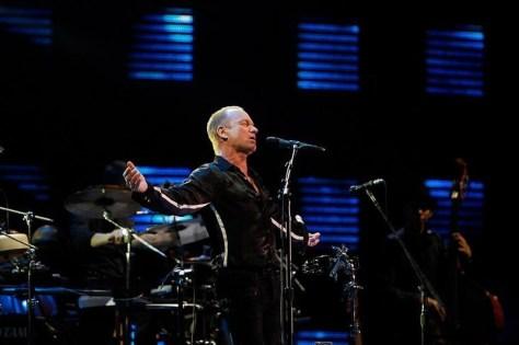 Sting en Chile - 2011 | Foto: Agencia Uno