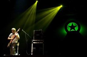 SIlvio Paredes abriendo el concierto de Tortoise en Chile 2011 - Fotógrafa: María Luisa Murillo