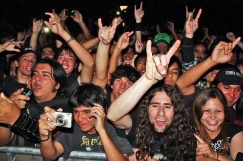 """Exodus en Chile 2011   Fotógrafo: Sebastián """"Manson"""" Jiménez"""